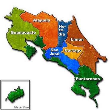 costaricaysusprovinciasjpg