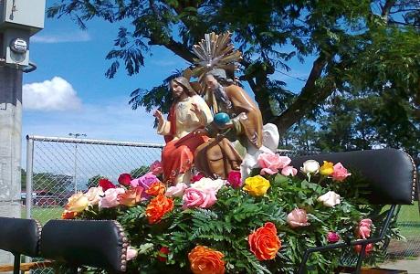 Comienzan las fiestas patronales en Heredia