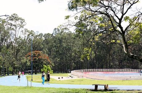 Hacen mejoras en el Parque Metropolitano La Sabana