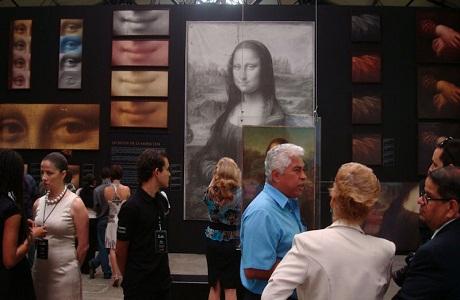 Exhiben obras de Leonardo da Vinci en La Aduana