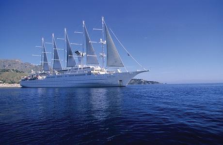 Windstar Cruises anuncia travesías para 2013 en Costa Rica y el Caribe