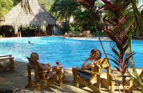 El hotel Villas Rio Mar Dominical
