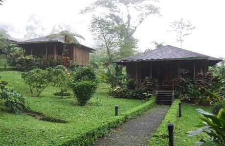 El hotel Lomas del Volcán