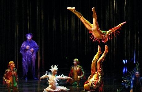 El Circo del Sol se presentará en Costa Rica