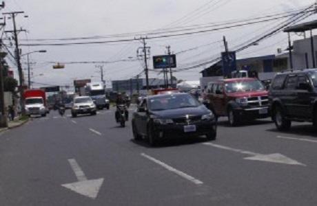 Anuncian nueva restricción vehicular en Costa Rica